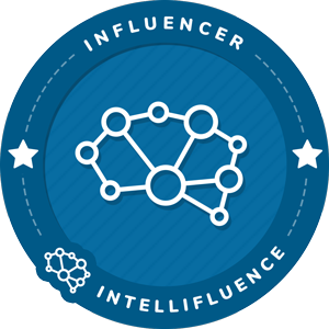 Luisa Lazo's Intellifluence Influencer Badge