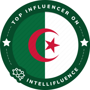 Lina Abed's Algeria Badge