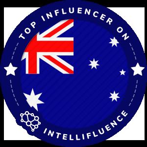 Krystal Prisk's Australia Badge