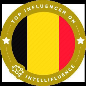 Zakaben Top Belgium Influencer Badge
