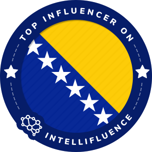 amel druzanovic Top Bosnia and Herzegovina Influencer Badge