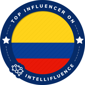 Nicolas arrieta Top Colombia Influencer Badge