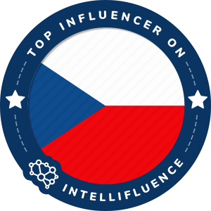 Petr Hovanec Top Czech Republic Influencer Badge