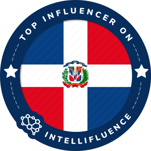 Marie Lora Top Dominican Republic Influencer Badge