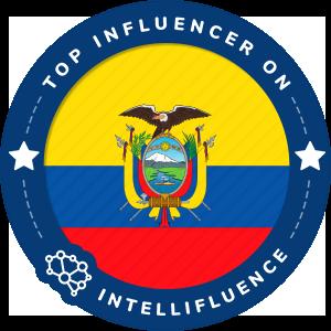 Tatiana Jaramillo Top Ecuador Influencer Badge