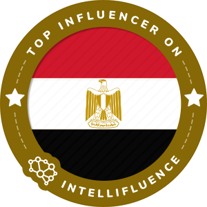 Noura Fouad Top Egypt Influencer Badge