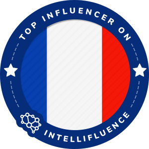 Duret Thibault Top France Influencer Badge