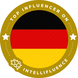 Sara Adrian Top Germany Influencer Badge