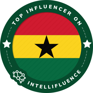John-Bunya Klutse Top Ghana Influencer Badge
