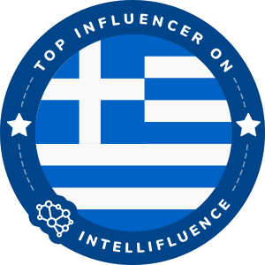 Dimitris Klonos Top Greece Influencer Badge