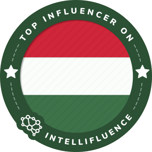 Zoltan Eberhart Top Hungary Influencer Badge