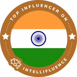 Vikram Kinkar Top India Influencer Badge