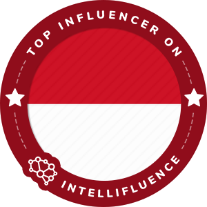 Aldi Kristian Ragil Saputra Top Indonesia Influencer Badge