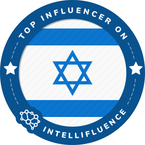 Elon Allouche's Israel Badge