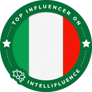 Carolina Ogliaro Top Italy Influencer Badge