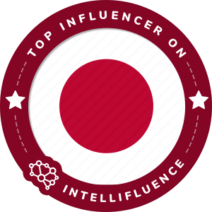Brahm Pascual Top Japan Influencer Badge