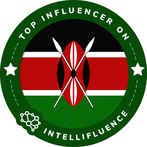 Daniel Top Kenya Influencer Badge