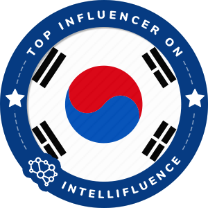 HeaJi Lee Top Korea, Republic of Influencer Badge