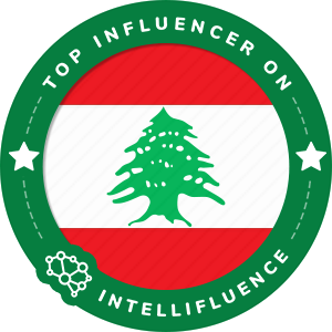 Ali Shehab Top Lebanon Influencer Badge