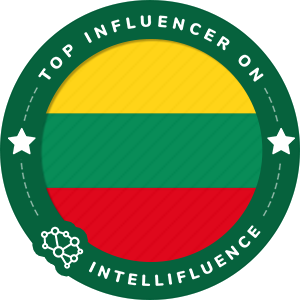 Eliza Kublickaja Top Lithuania Influencer Badge