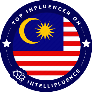 Quinn Teng Top Malaysia Influencer Badge