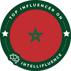 Mohammed Naim Top Morocco Influencer Badge