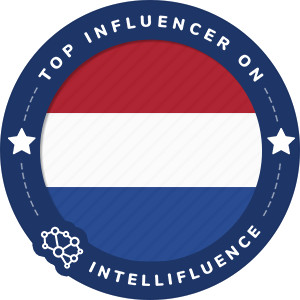 Joep Gerla Top Netherlands Influencer Badge