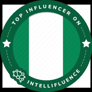 Godswill Mukoro's Nigeria Badge