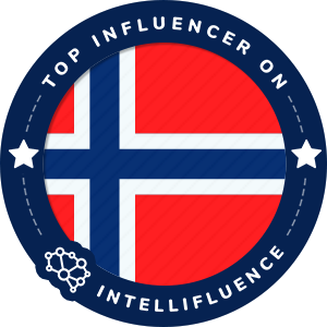 Kim Andre Top Norway Influencer Badge