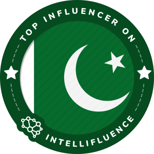 Ali Khan Top Pakistan Influencer Badge