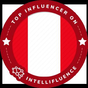 Jhetzabe Resplandor Top Peru Influencer Badge