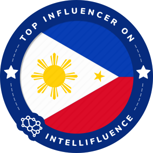 Divine lee Top Philippines Influencer Badge