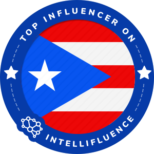 Inelda Santana Top Puerto Rico Influencer Badge