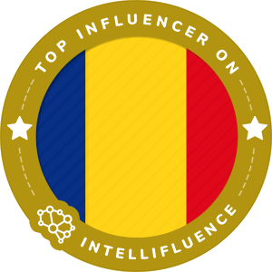 Andra Gogan's Romania Badge