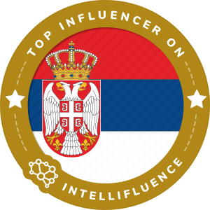 Dusan Marjanovic's Serbia Badge
