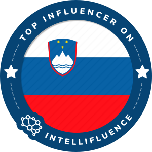 Marin Medak Top Slovenia Influencer Badge