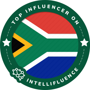 Melika Razavi's South Africa Badge