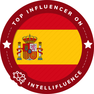 ERIKA MONASTERIO Top Spain Influencer Badge