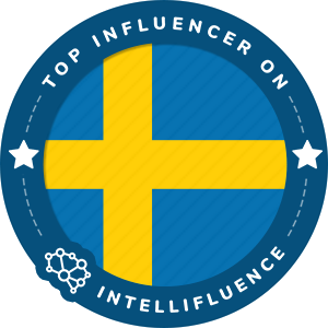 Shkova Farhad Top Sweden Influencer Badge