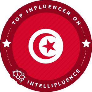 Jammeli Hamza Top Tunisia Influencer Badge