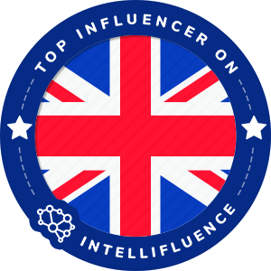 Lisa Heath Top United Kingdom Influencer Badge