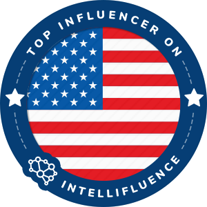 Pamela Jean Noble Top United States Influencer Badge