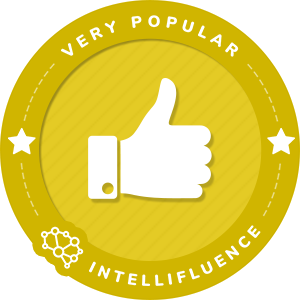 Caryn Harlos Very Popular Influencer Badge