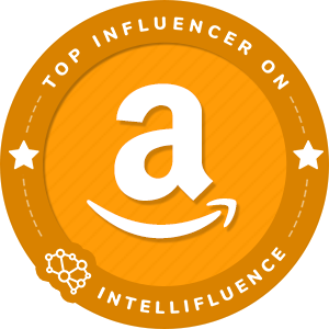 Caryn Harlos Top Amazon Influencer Badge