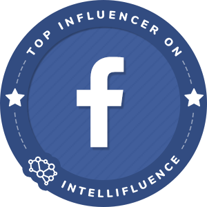 Stuart Edge Top Facebook Page Influencer Badge
