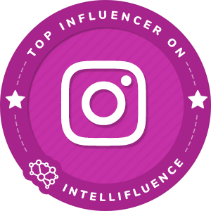 Pamela Jean Noble Top Instagram Influencer Badge