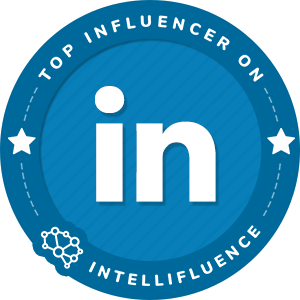 Angela Place Wiliams Top LinkedIn Influencer Badge
