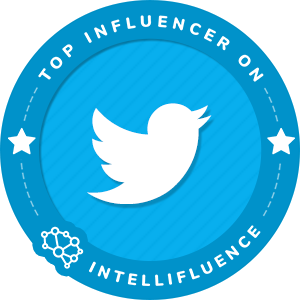 Pamela Jean Noble Top Twitter Influencer Badge