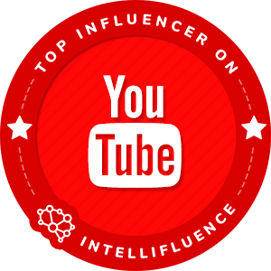 Crawford Collins Top Youtube Influencer Badge