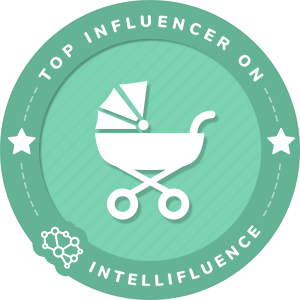Angela Place Wiliams Top Baby Influencer Badge